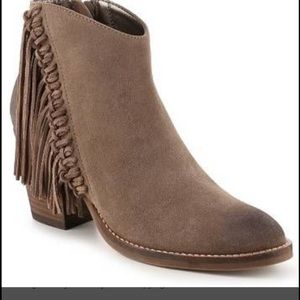 Steve Madden Booties with fringe details